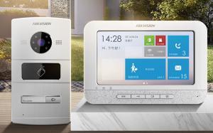 DS-KIS601 别墅楼宇可视门铃系统