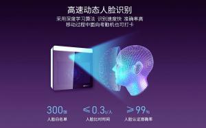 AI动态人脸识别门禁系统套装一体机智能刷脸远程开门考勤机